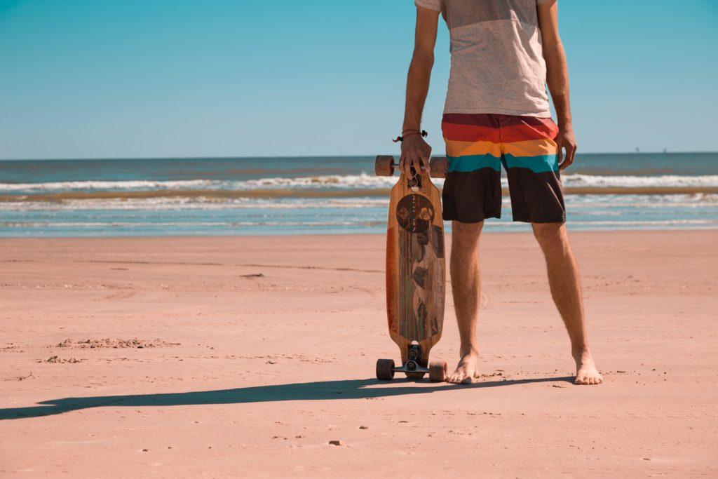 おすすめのサーフィンの練習用スケボー