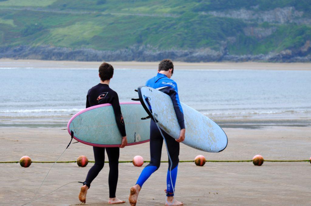 サーフィン初期費用:ウエットスーツ