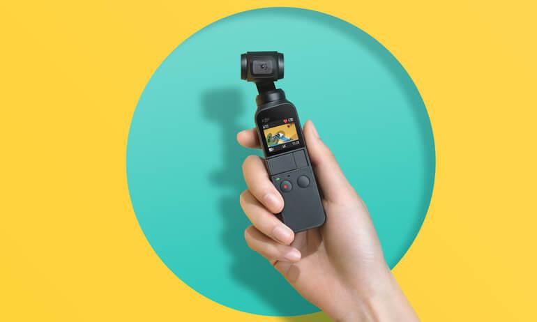 新型アクションカメラ【Osmo Pocket】のできること、デメリットも公開