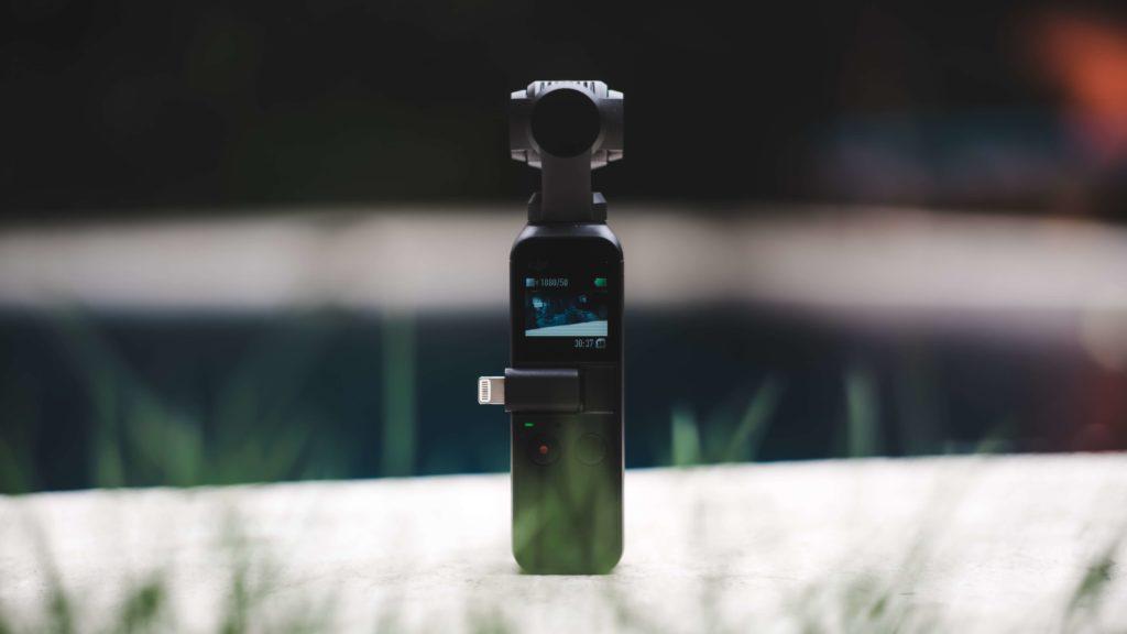 新型アクションカメラ【Osmo Pocket】の概要