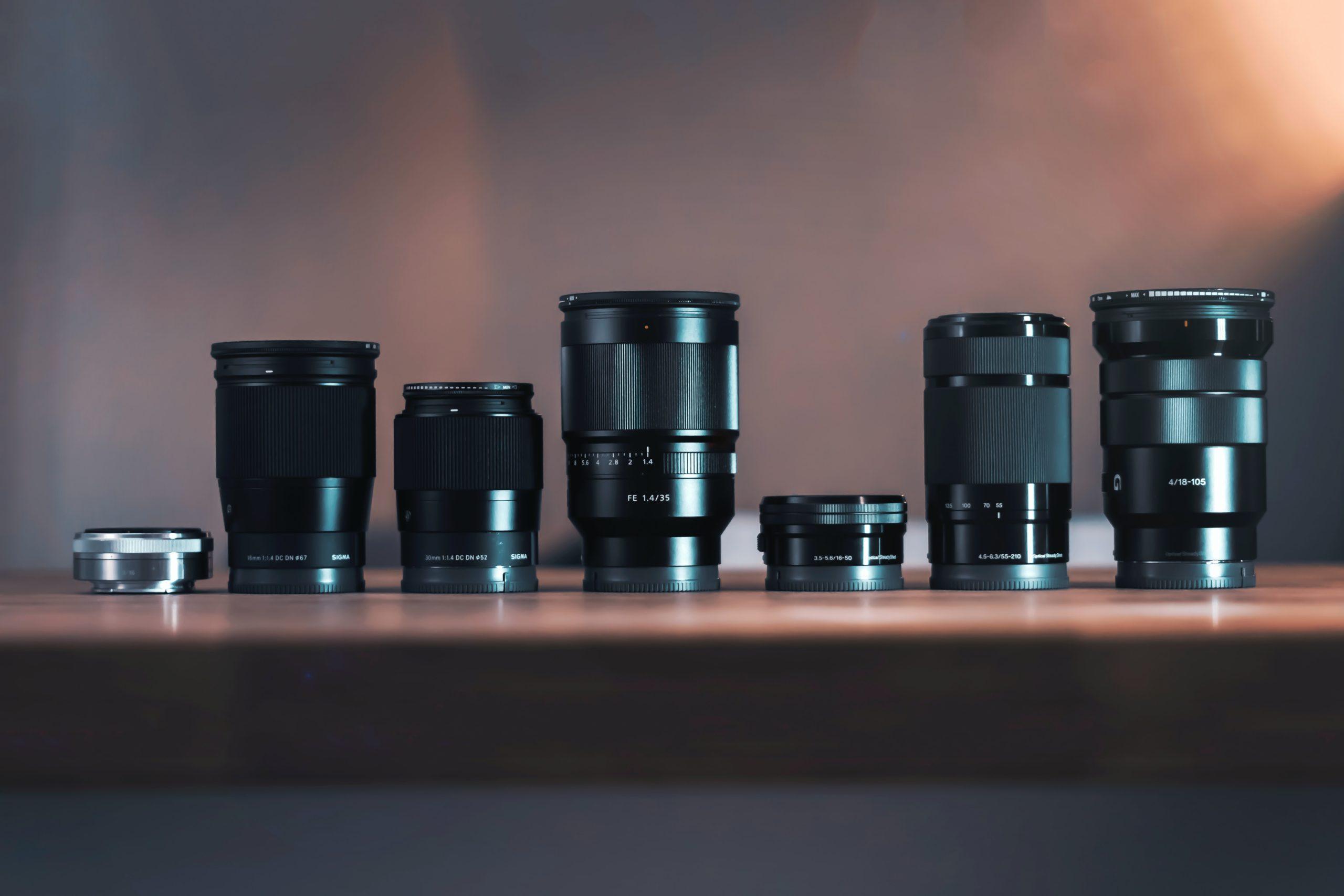 【 レンズの選び方 】動画撮影用で最低限抑えるべきレンズ【 初心者向け 】