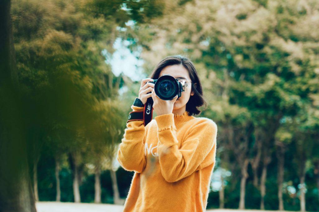 動画編集に必要なもの:カメラ
