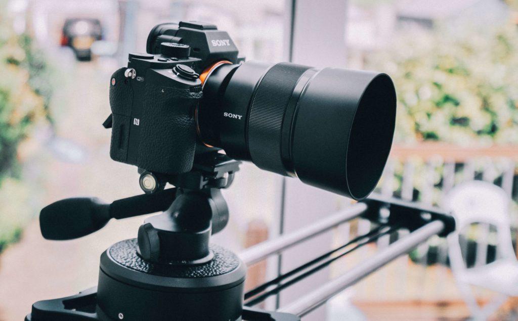 動画編集用機材:カメラ