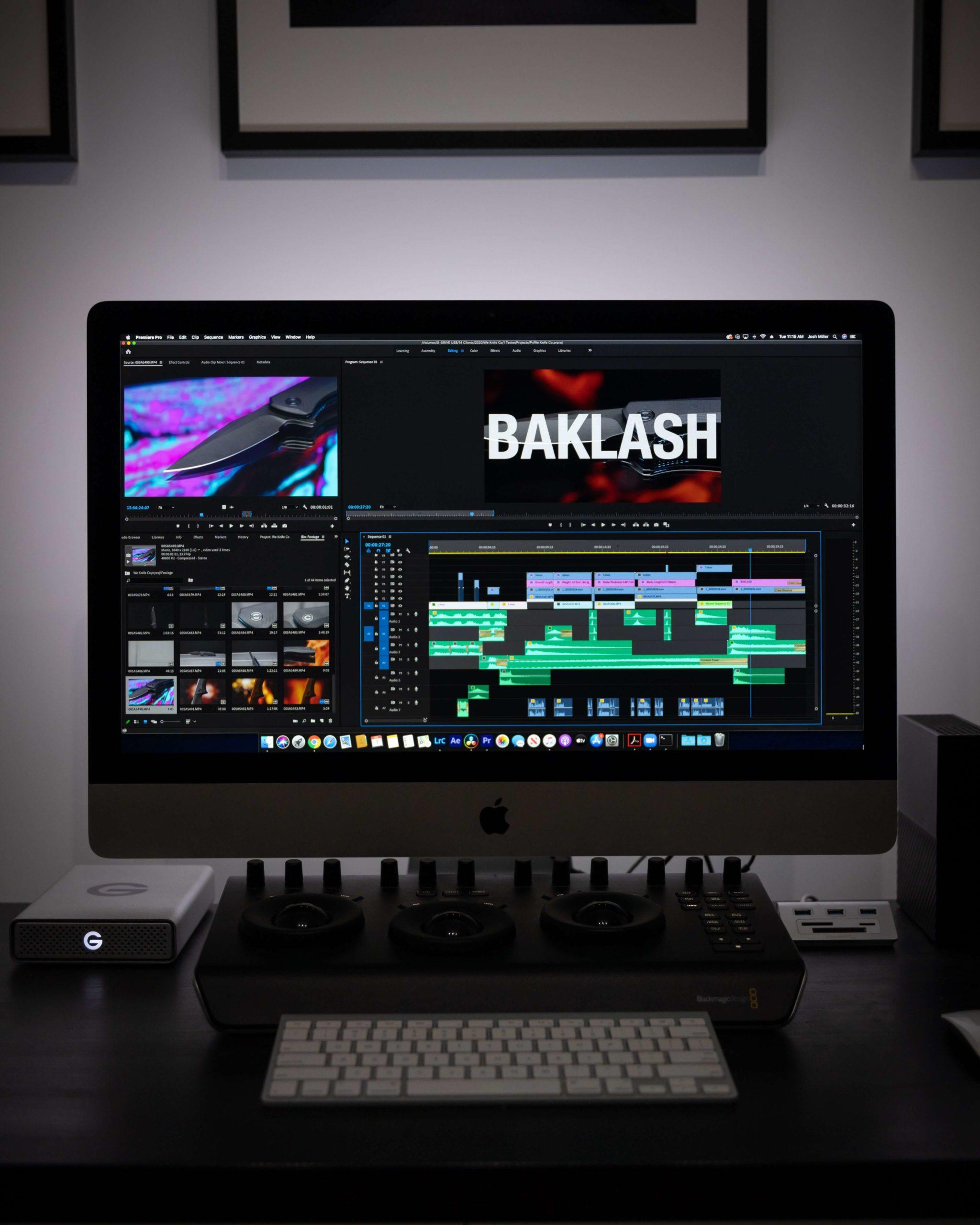 【 動画編集ソフト 】Macにおすすめなソフト4選!